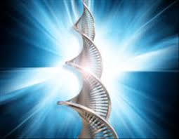 theta dna healing strands with light