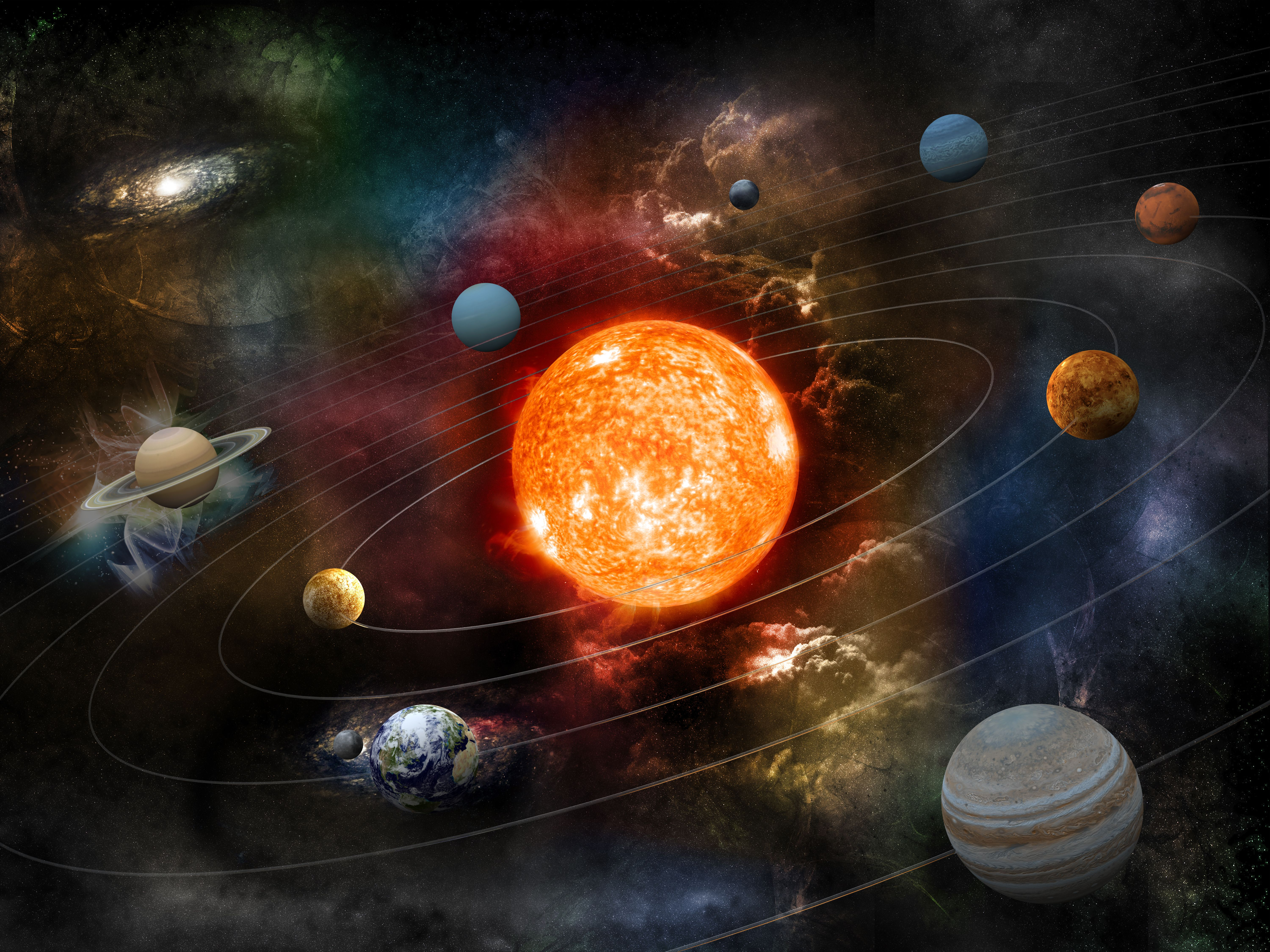 universe solar system images - 800×600